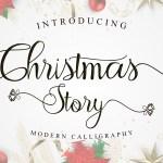 Christmas Story Font