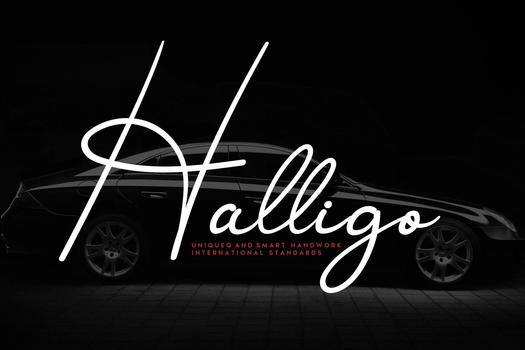Halligo-Font