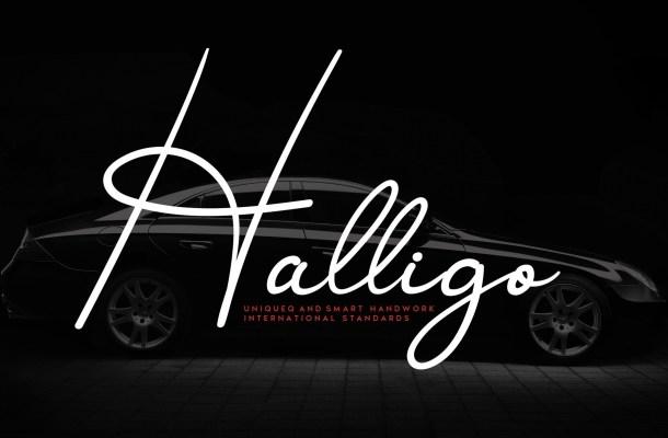 Halligo Font