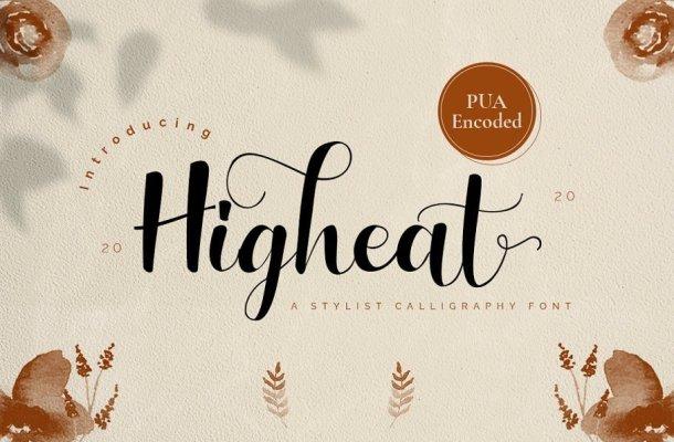 Higheat Font