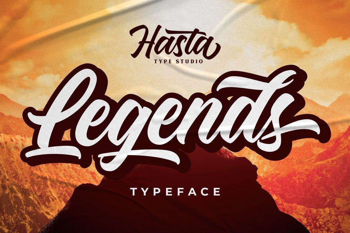 Legends-Script-Typeface