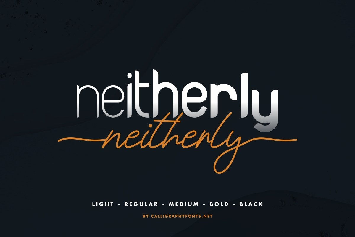 Neitherly-Font-Duo