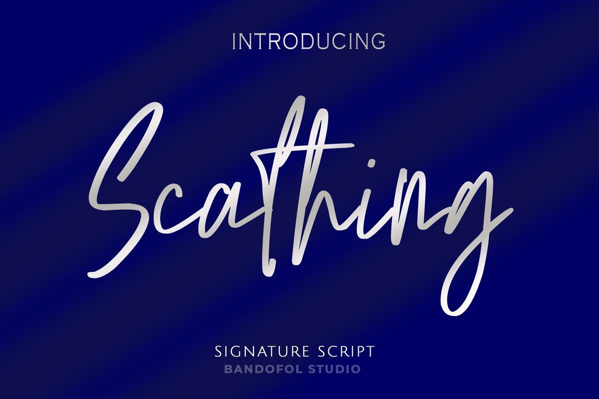 Scathing-Font