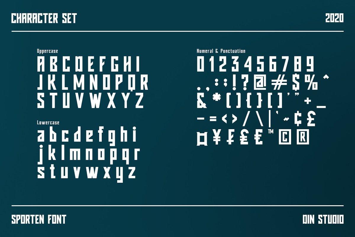 Sporten-Classic-Sport-Display-Font-3