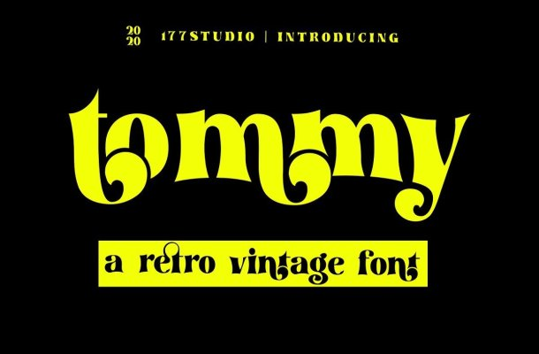 Tommy-Font