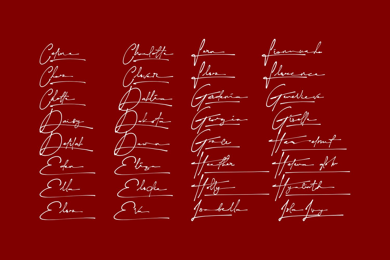 Yonitta-Signature-Script-Font-3