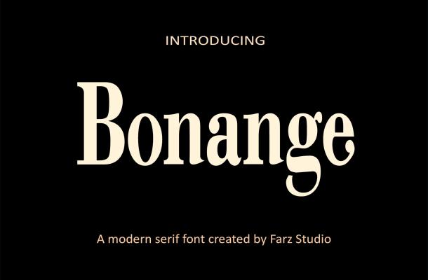 Bonange Font