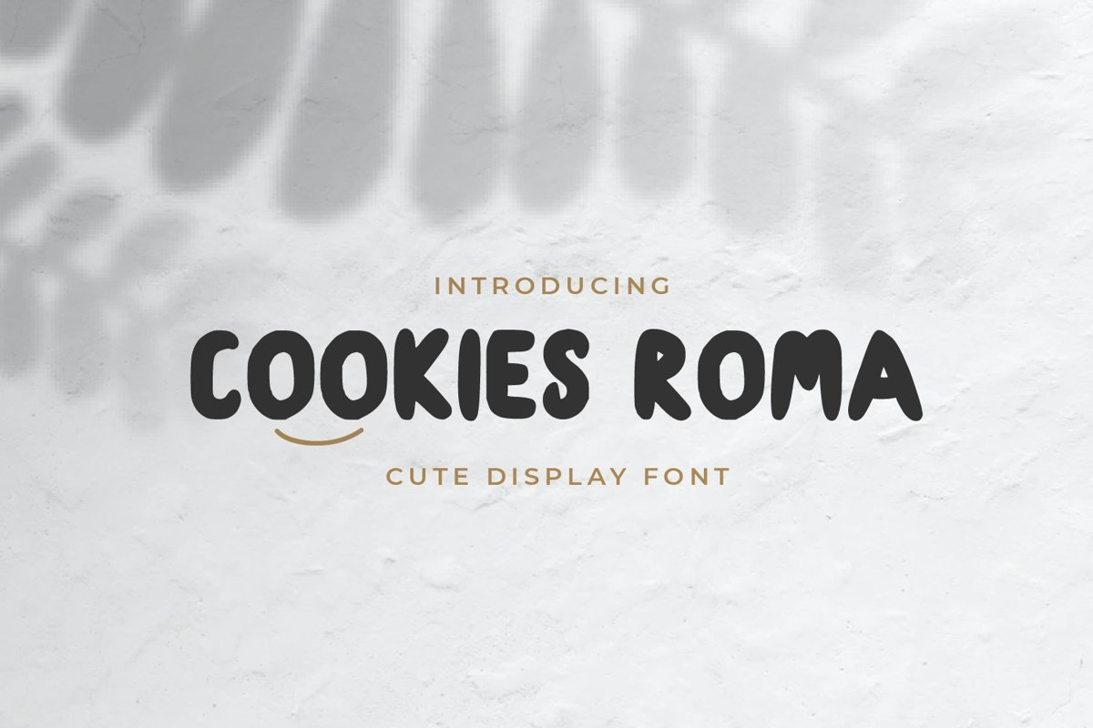 Cookies-Roma-Font