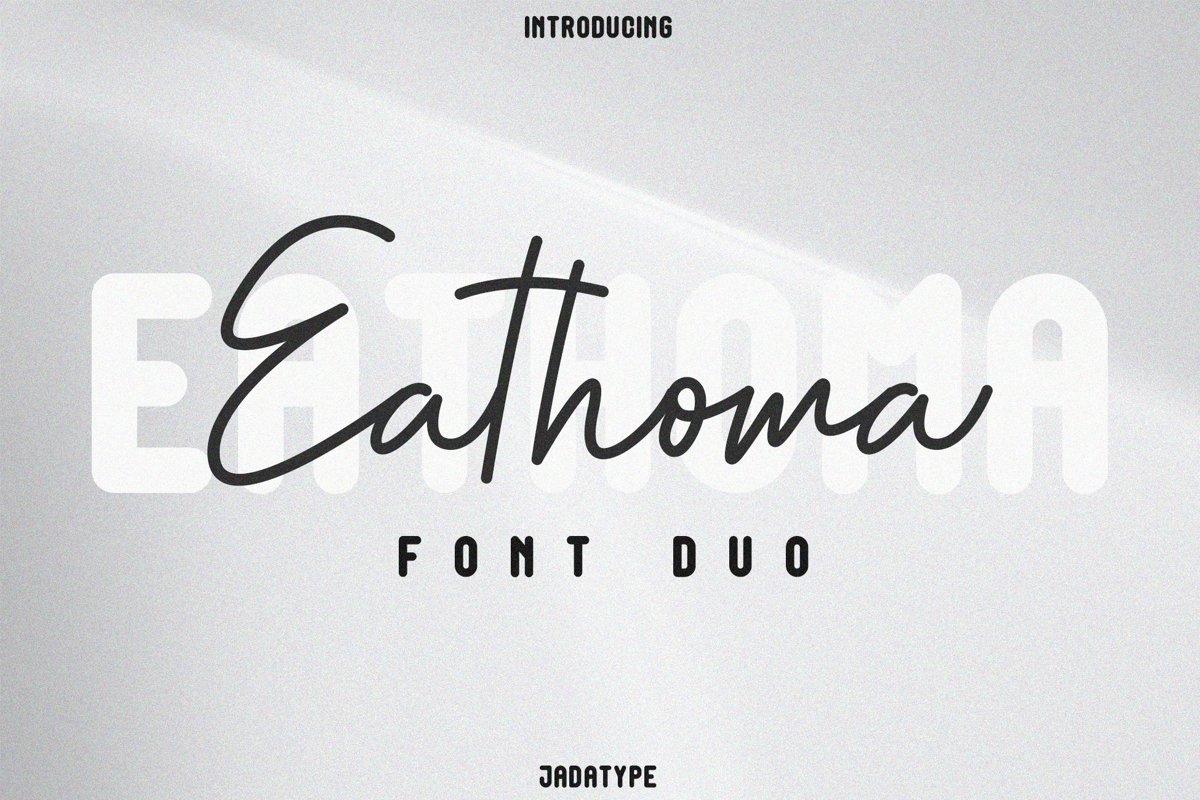 Eathoma-Font-Duo