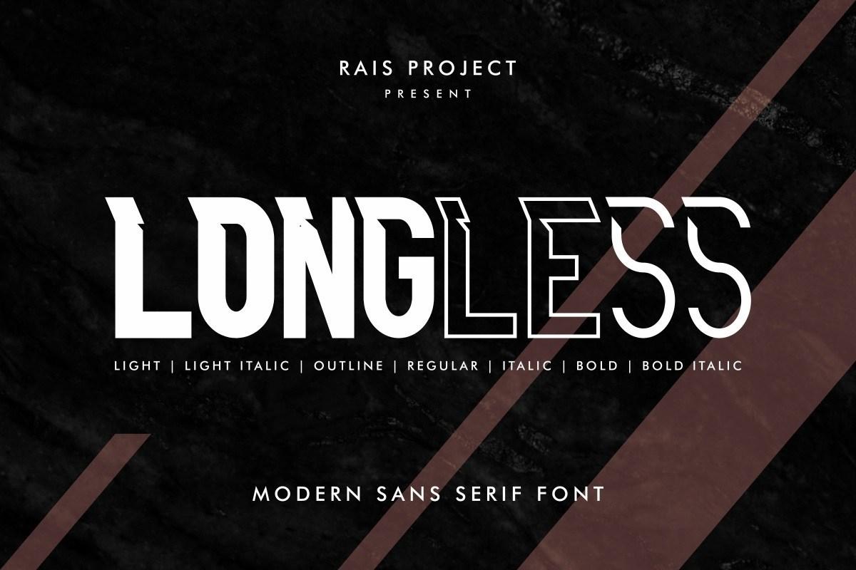 Longless-Font