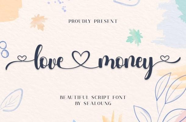 Love Money Font