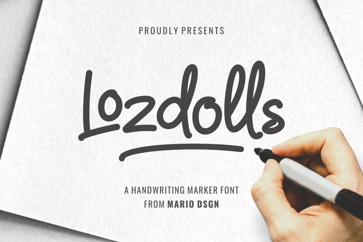 Lozdolls-Font