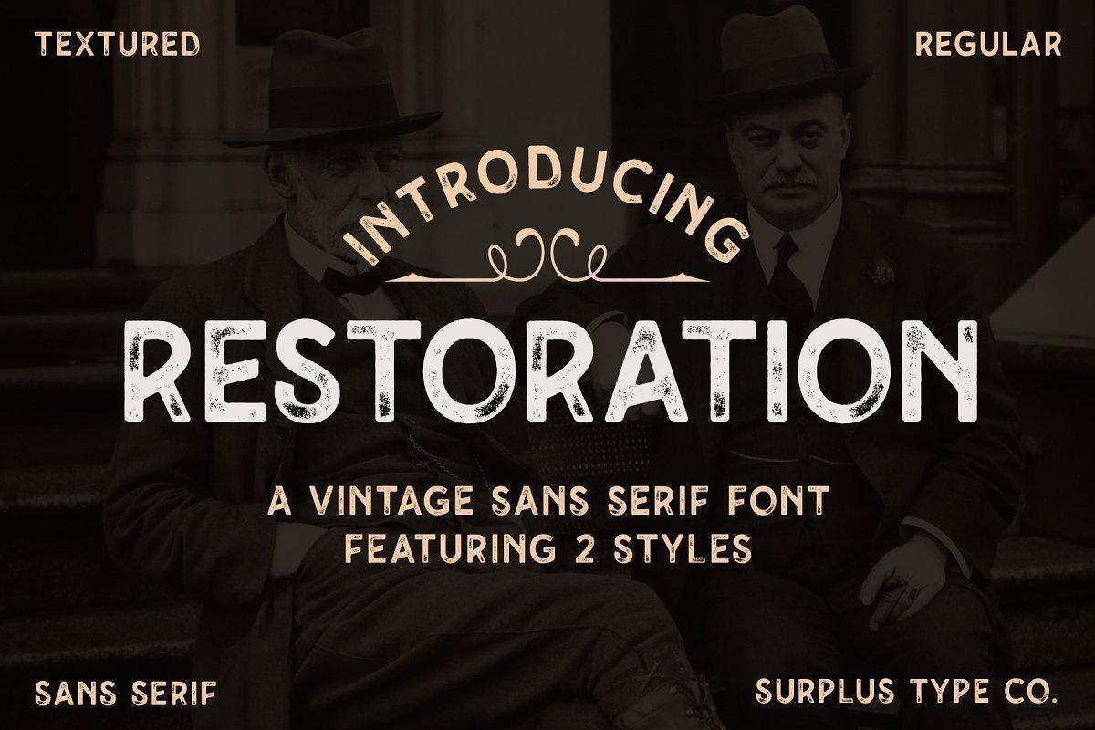 Restoration-Font