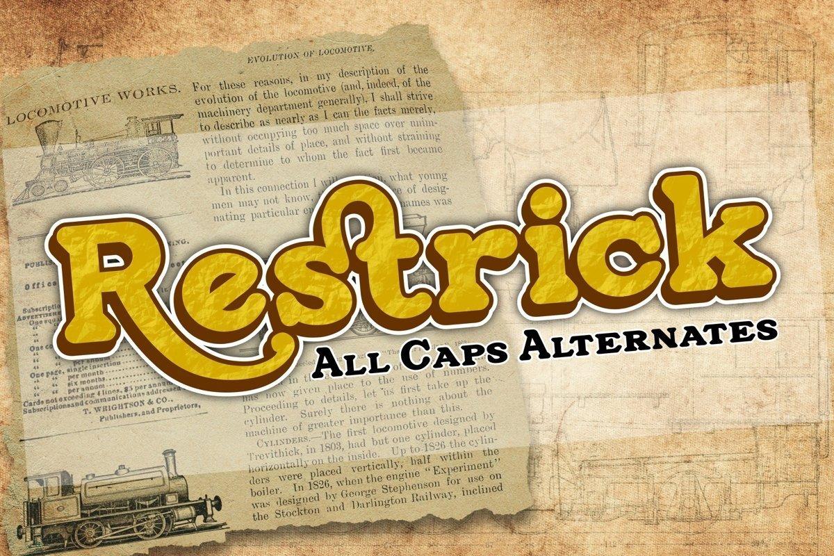 Restrick-Font