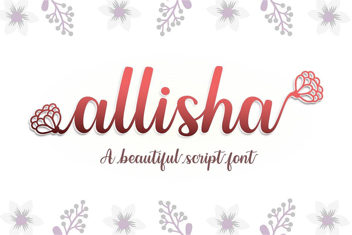 Allisha-Font