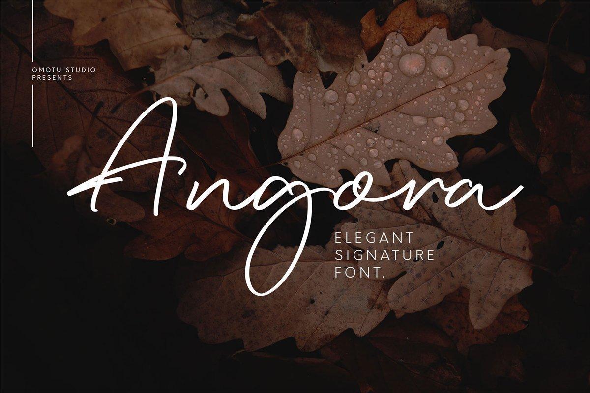 Angora-Font