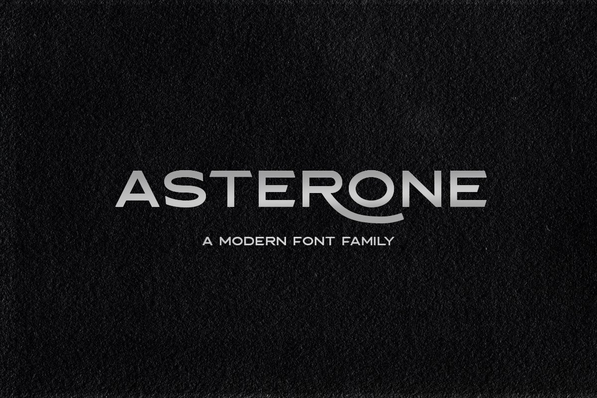 Asterone-Font