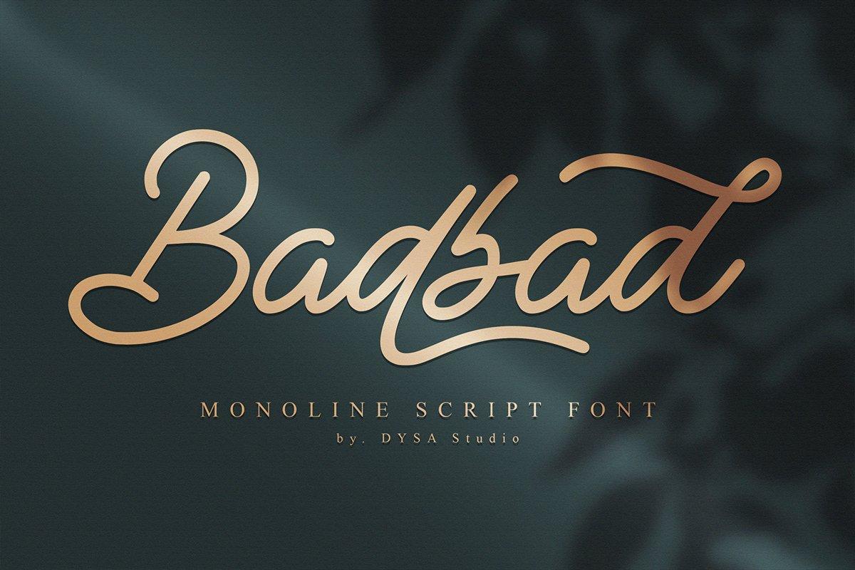 Badbad-Font
