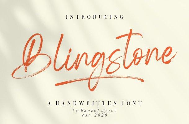 Blingstone-Font