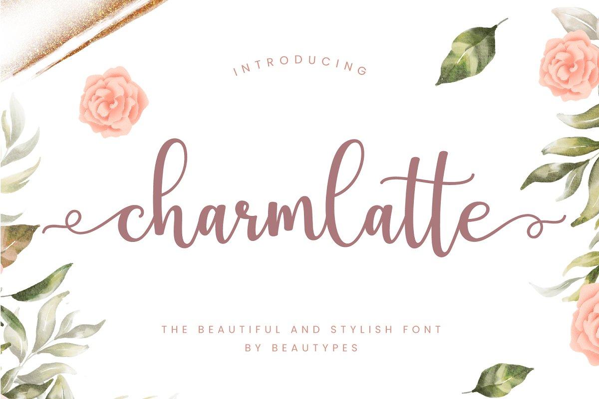 Charmlatte-Font