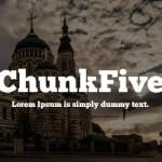 ChunkFive Font