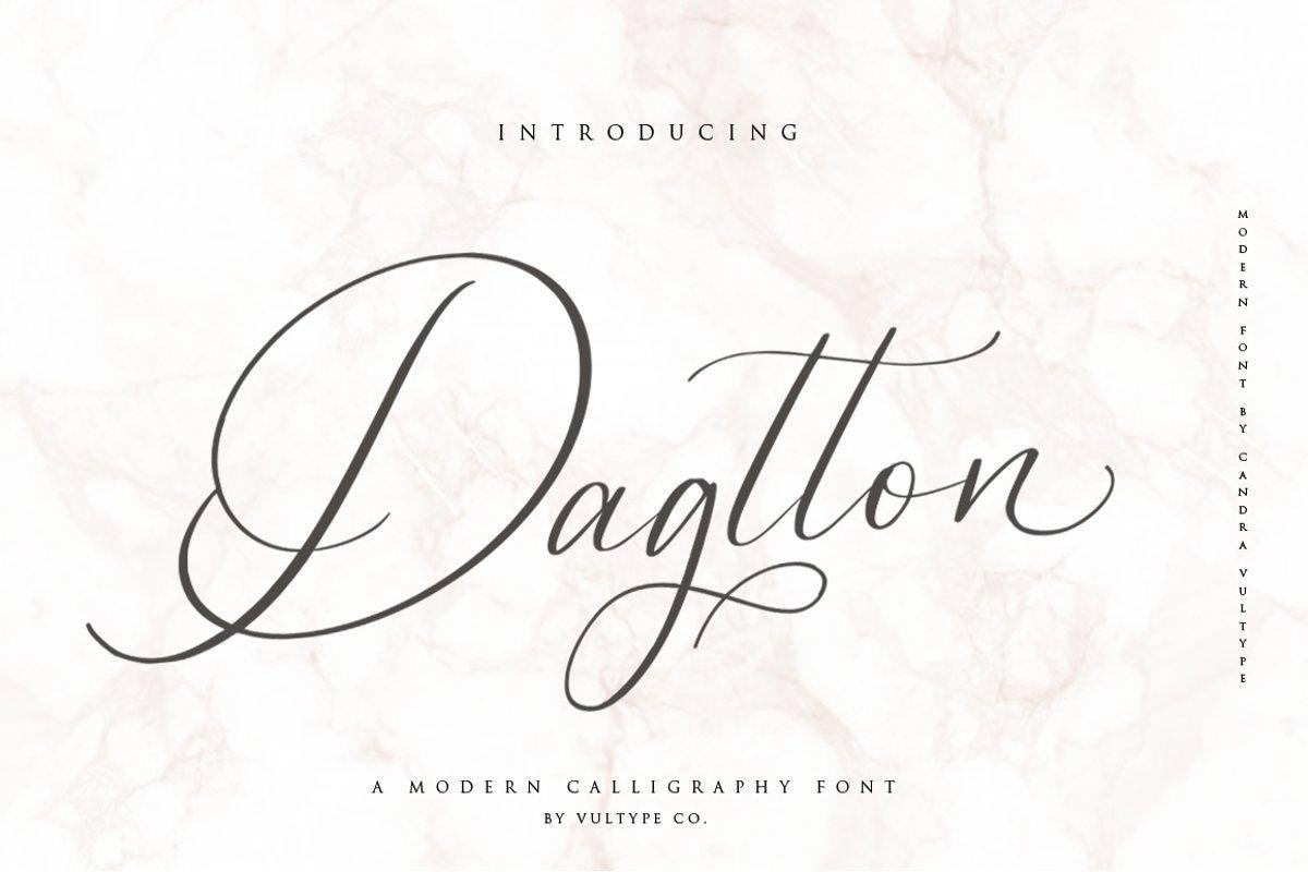 Dagtton-Font