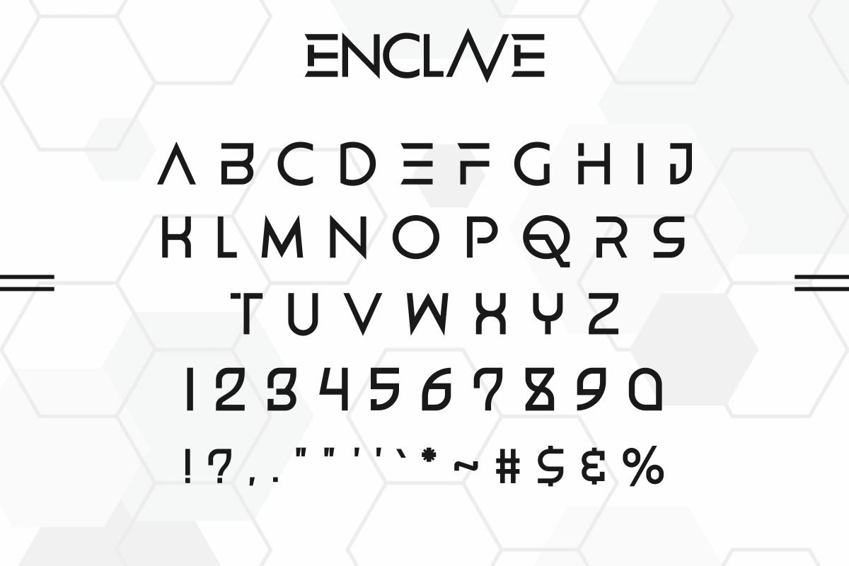 ENCLAVE-Font-3