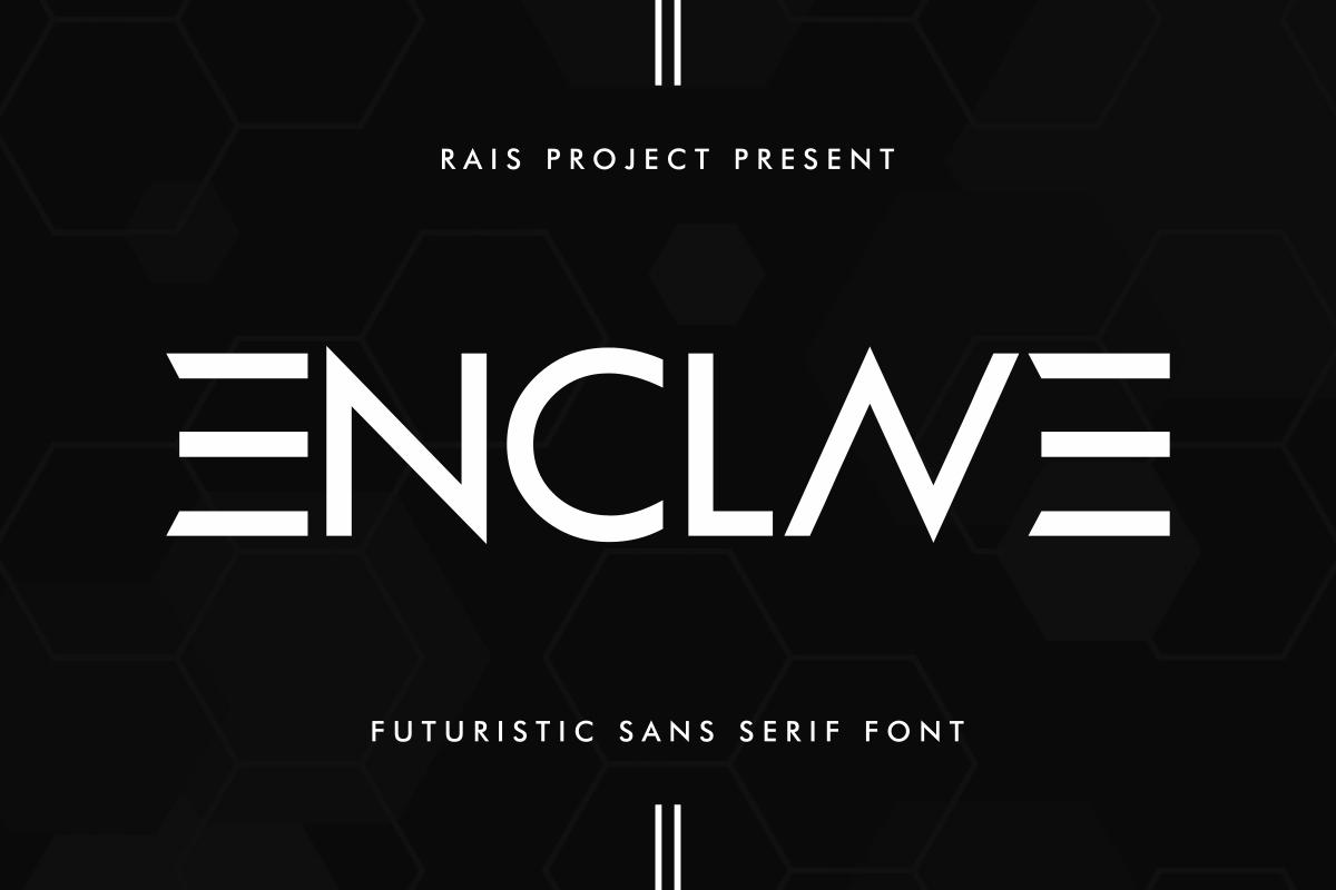 ENCLAVE-Font