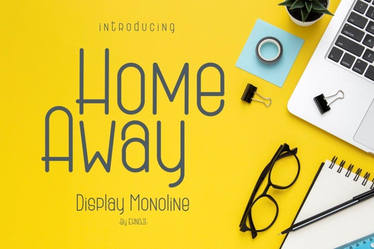 Home-Away-Font
