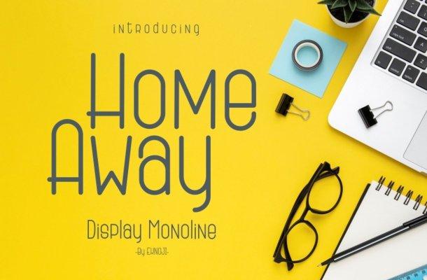Home Away Font
