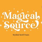 Magical Source Font
