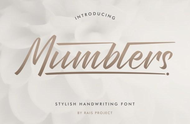 Mumblers-Font
