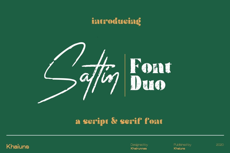 Sattin-Font