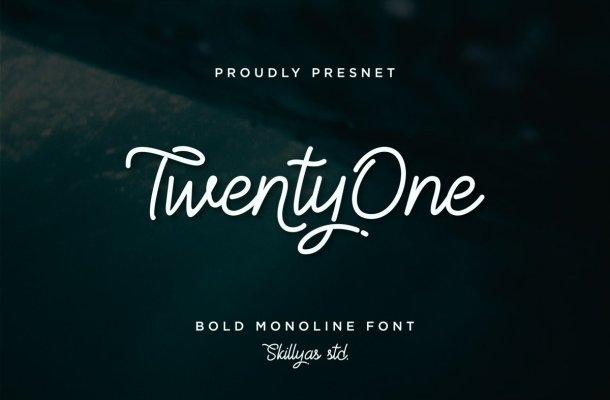 TwentyOne Font