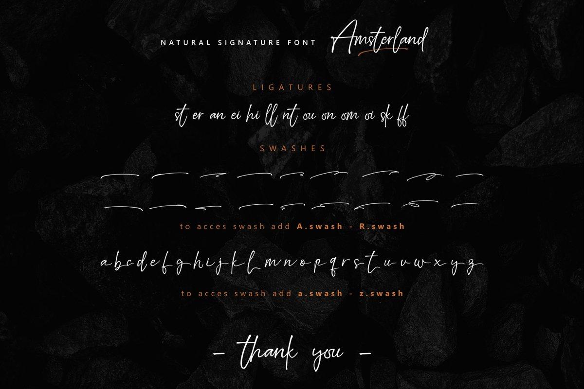 Amsterland-Font-3