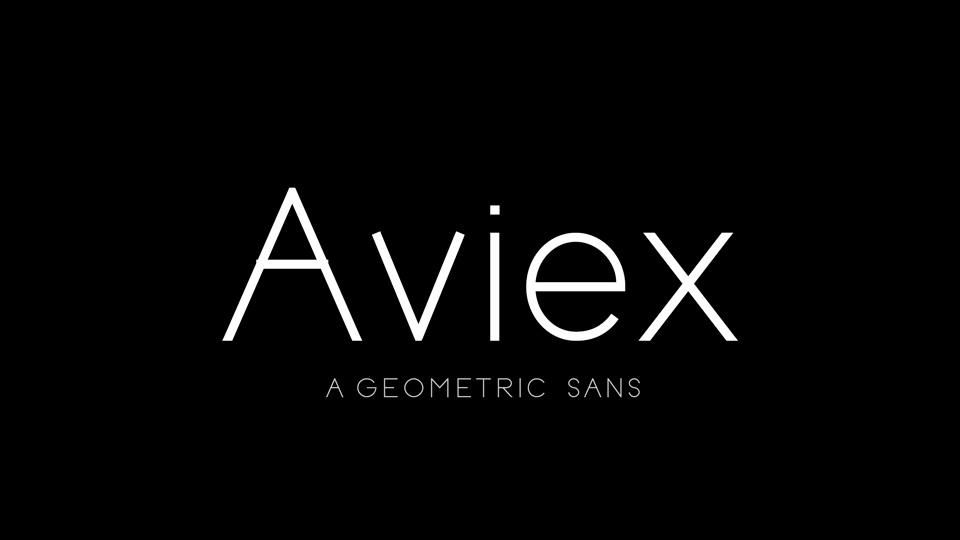 Aviex-Font