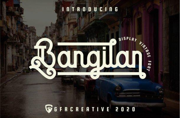 Bangilan Font