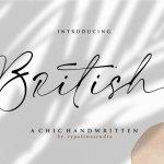 British Font