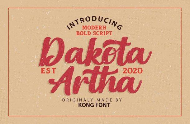 Dakota-Artha-Font