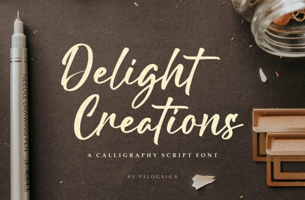 Delight-Creations-Font