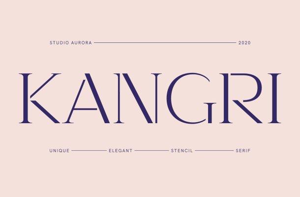 Kangri Font