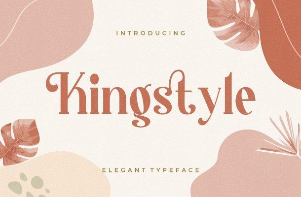 Kingstyle Font