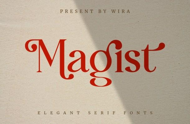 Magist-Font
