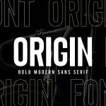 Origin Font