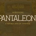 Pantaleone Typeface