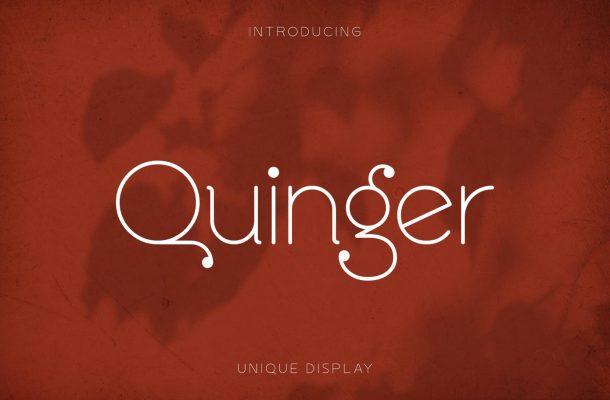 Quinger-Font