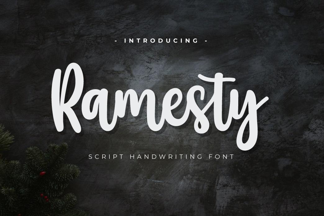 Ramesty-Font