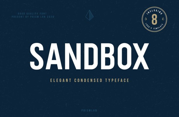 Sandbox Typeface