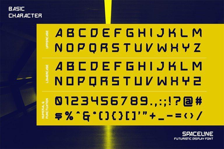 Spaceline-Futuristic-Display-Font-3