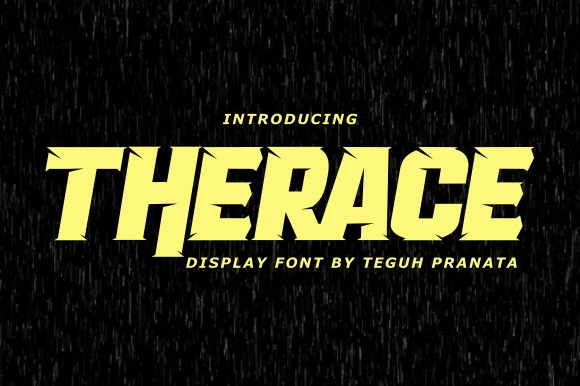 Therace-Font
